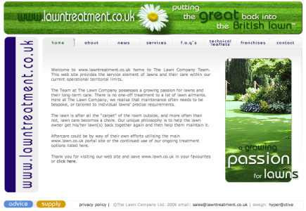 The Lawn Company  - Lawn Care Franchise