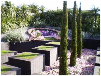 Quilted Velvet Garden2 - Chelsea Flower Show 2009 - Tony Smith