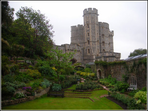 Windsor Castle Berkshire Lawns