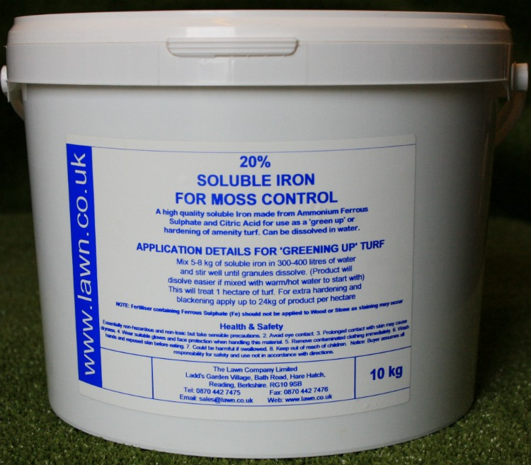Lawn Shop - Soluble Iron For Moss Control