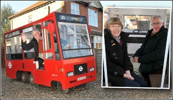 Grassclippings - Pensioner builds bus out of a lawnmower
