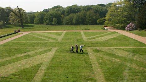 BBC - Union Flag Lawn
