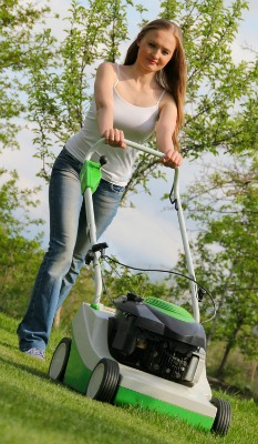 Grassclippings - Mowing the Lawn