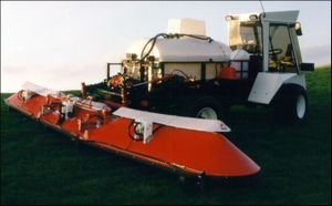 Weed Free - Spraying Mantis Sprayer