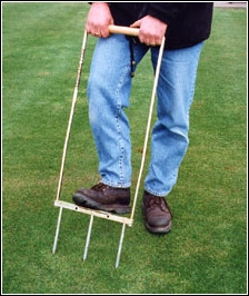 Grassclippings - Aerating a Lawn