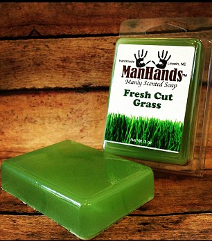 Grass Clippings - Man Hands Soap