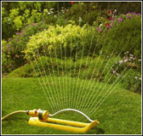 Grassclippings - Lawn Sprinkler