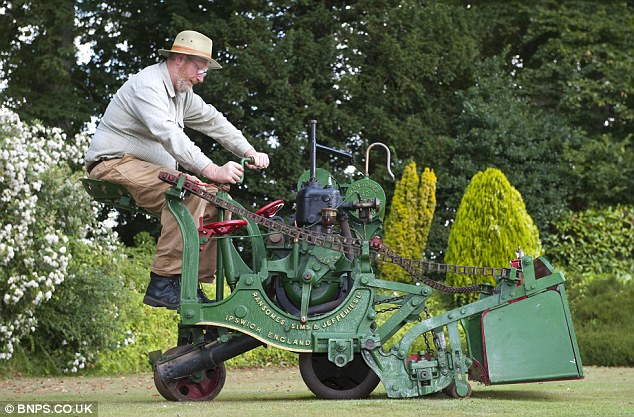 Grass Clippings - Historic Ransomes Lawn Mower