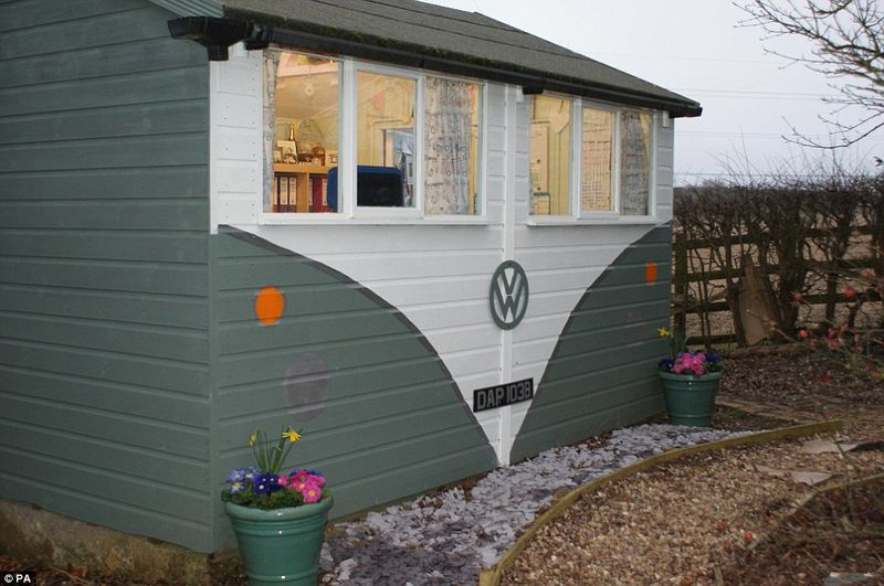 Grass Clippings - Shed of The Year