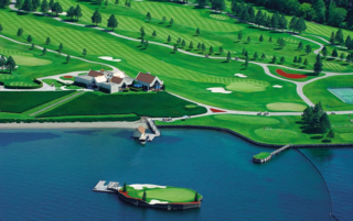 Grass Clippings - Lake Coeur d'Alene Golf Course
