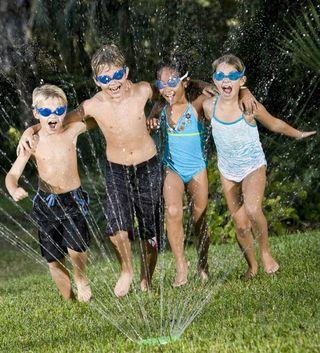 Grassclippings - Lawn Sprinkler