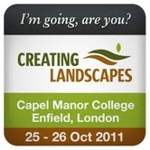 Creating Landscapes - Capel Manor 25 - 26 Oct 2011