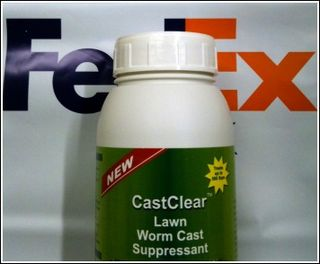 FedEx - Delivering Lawn Worm Cast Solutions
