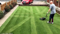Grass Clippings - Union Flag Lawn