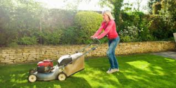 Grass Clippings - Mowing the lawn relieves stress