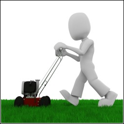 Grass Clippings - Start Mowing Lawn