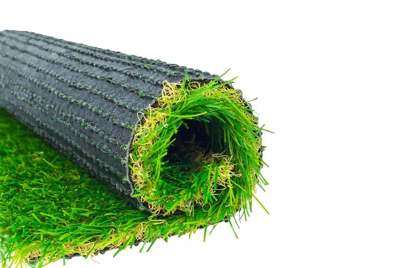 Grass Clippings - Plastic Grass
