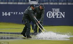 Grass Clippings - The Open - Reuters