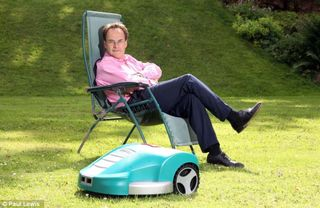 Grass Clippings - Quentin Letts - Robo Mower
