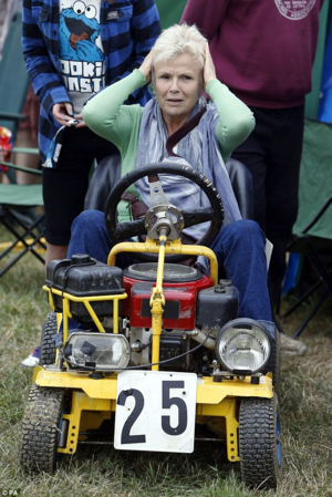 Grass Clippings - Julie Walters Lawn Mower Racing