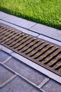 Grass Clippings - Lawn Drainage