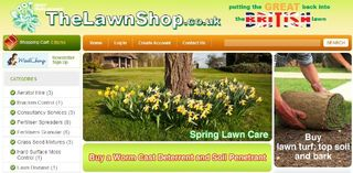 The Lawn Shop @ www.lawn.co.uk - Putting the Great back into the British lawn