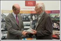 Derek Walder BEM - IOG Long Service Award