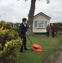 Grass Clippings - Ed Miliband Flymo