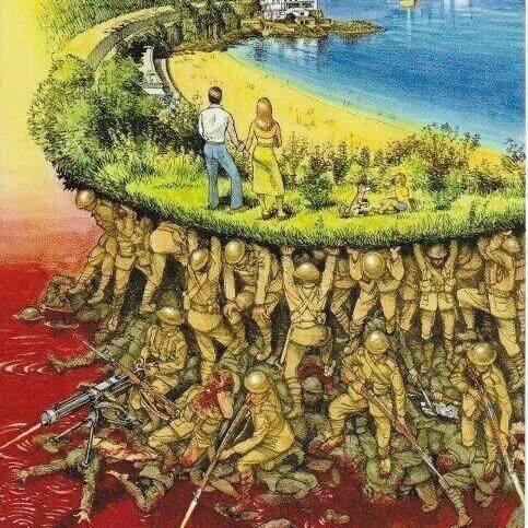 Grass Clippings - Armistice Day 2014