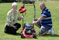 Grass Clippings - Lottery Winners Lawn Mower Purchase