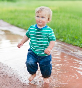 Grassclippings - Paddling in Puddles
