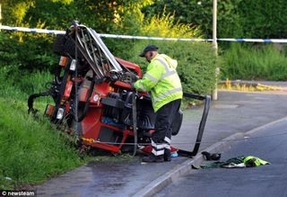 Grassclippings - Lawn Mower Accident