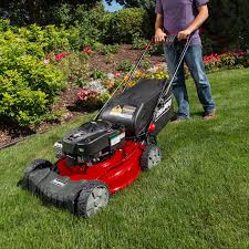 Grass Clippings - Lawn Mowing in Spring
