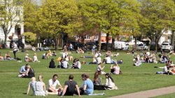 Grass Clippings - Hottest April Day for 70 Years