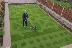 GrassClippings - Creative Lawn Stipes Competition Winner Keith SMith