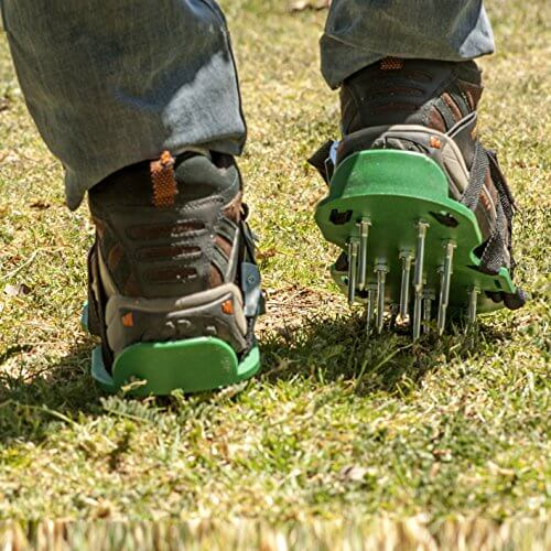 Grass Clippings - Lawn Aerator