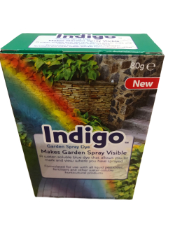 Indigo Garden Spray Dye Packaging