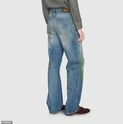 GUCCI Grass Stained Jeans